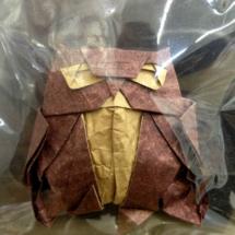 Búho de origami