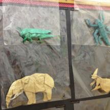 Animales de papiroflexia en la tienda Minimum
