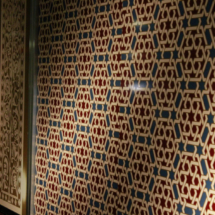 Mosaico del Palacio de la Aljafería