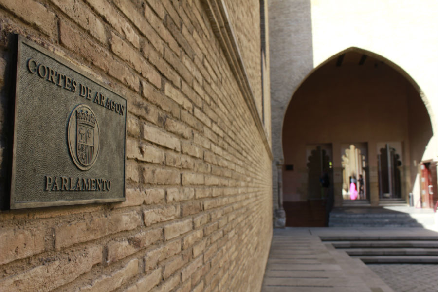 El Palacio de la Aljafería es la sede del Gobierno de Aragón
