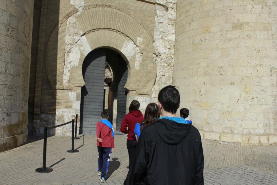Visitamos el Palacio de la Aljafería, en Zaragoza
