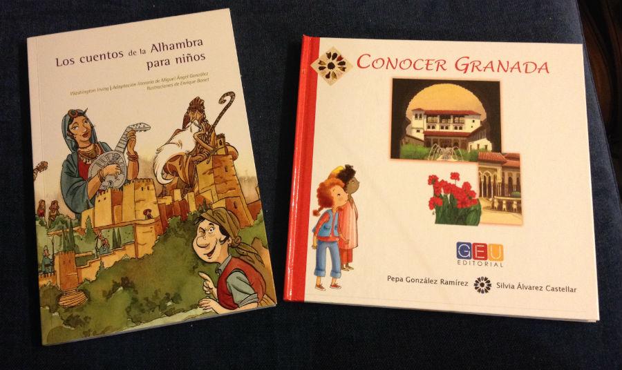 Dos libros para niños sobre Granada y la Alhambra