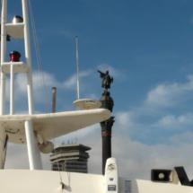 Barcos golondrinas en barcelona