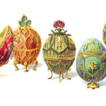 Doodle de Google dedicado a los huevos decorados de Fabergé