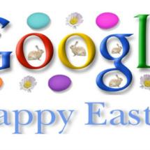 Doodle de Google dedicado a los huevos de Pascua