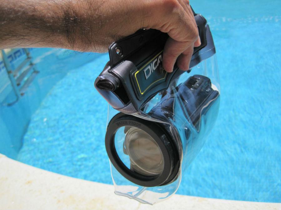 Funda impermeable para cámara de vídeo