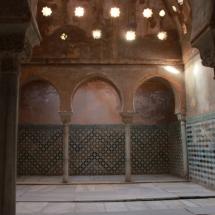 La Alhambra de Granada, con niños