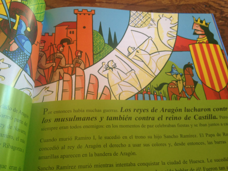 Historia de arag n para ni os for Alojamiento zaragoza con ninos