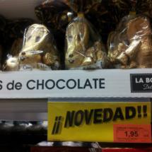 Monas de Pascua: figuras de chocolate