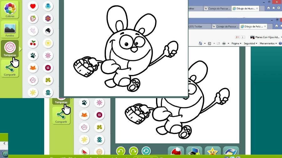Cómo conseguir dibujos de Pascua para colorear: plan gratis y en ...