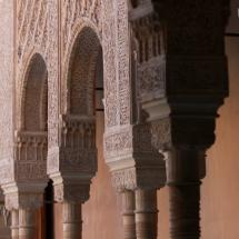 Detalle de La Alhambra de Granada