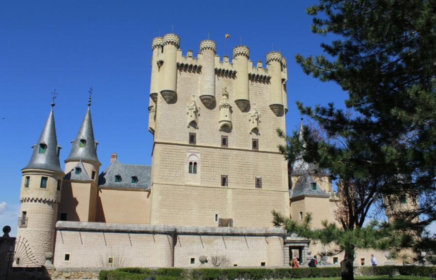 Visitamos el Alcázar de Segovia en familia