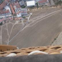 Elevándose en globo sobre Segovia