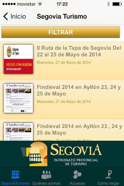 Apps sobre segovia for Segovia oficina de turismo