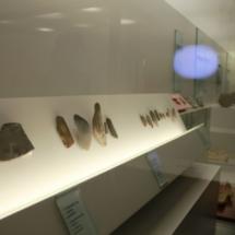 Detalle de la exposición permanente del Museo de Segovia