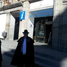 Fachada del Centro de Recepción de Visitantes de Segovia