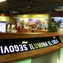 Esta oficina de turismo de Segovia ofrece todo tipo de guías para visitantes