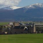 Vistas de Segovia desde el restaurante La Postal