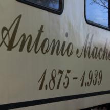 El vagón de La Postal se llama Antonio Machado