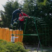 El restaurante La Postal, en Segovia, tiene un parque con columpios