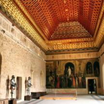 Salón del Trono del Alcázar de Segovia