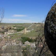 Vistas desde el Alcázar de Segovia