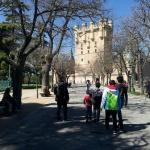 El Alcázar de Segovia, en familia