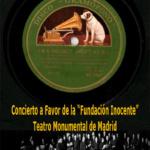 Cartel del concierto en beneficio de la Fundación Inocente