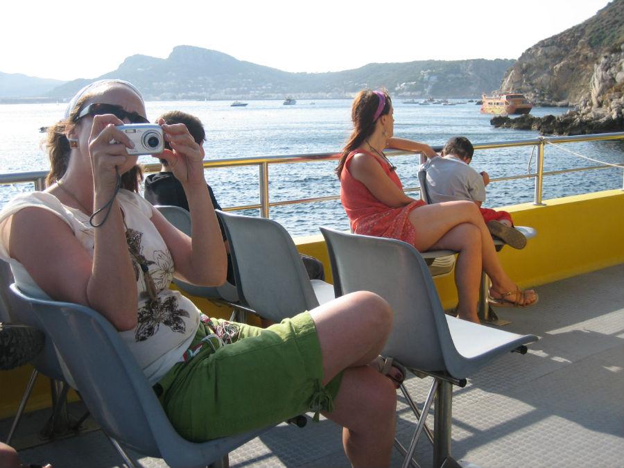 Excursión en barco por las Islas Medas