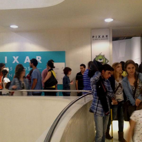 La exposición de Pixar atrae a niños de todas las edades