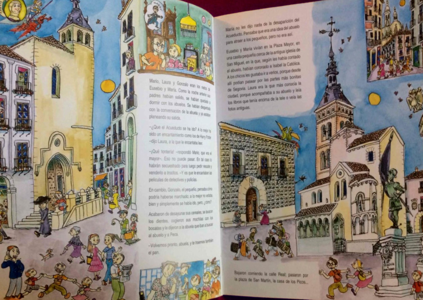Libros sobre Segovia para peques