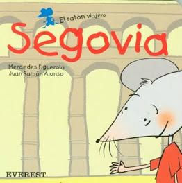 Portada del ibro 'El Ratón Viajero en Segovia'
