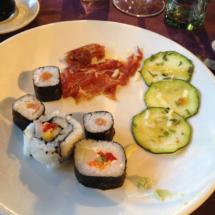 La comida japonesa es muy popular en Brasil