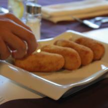 En El Rodizio hay una amplia variedad de aperitivos y primeros platos