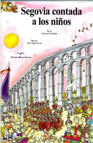 Portada del libro 'Segovia contada a los niños'