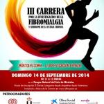 III Carrera por la investigación de la Fibromialgia y el SFC