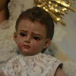 El niño Jesús del barrio de pescadores de Conil luce una lágrima... con historia.