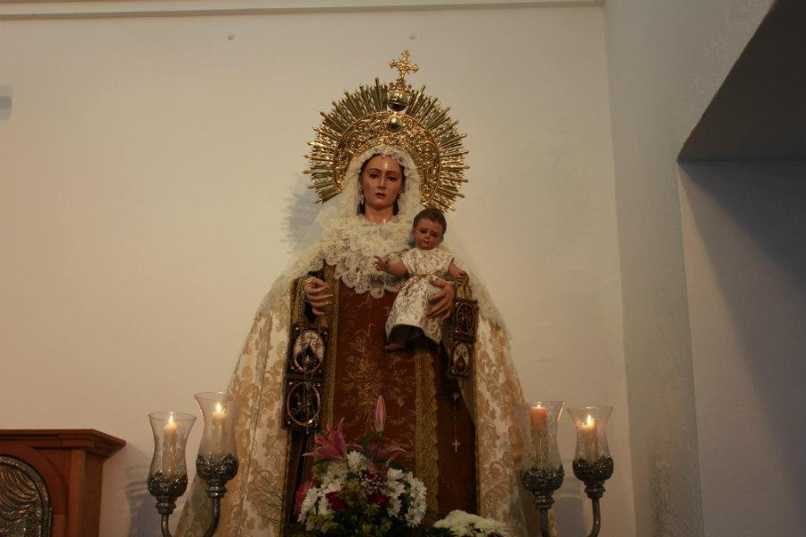 La Virgen del Carmen es la patrona de los pescadores.