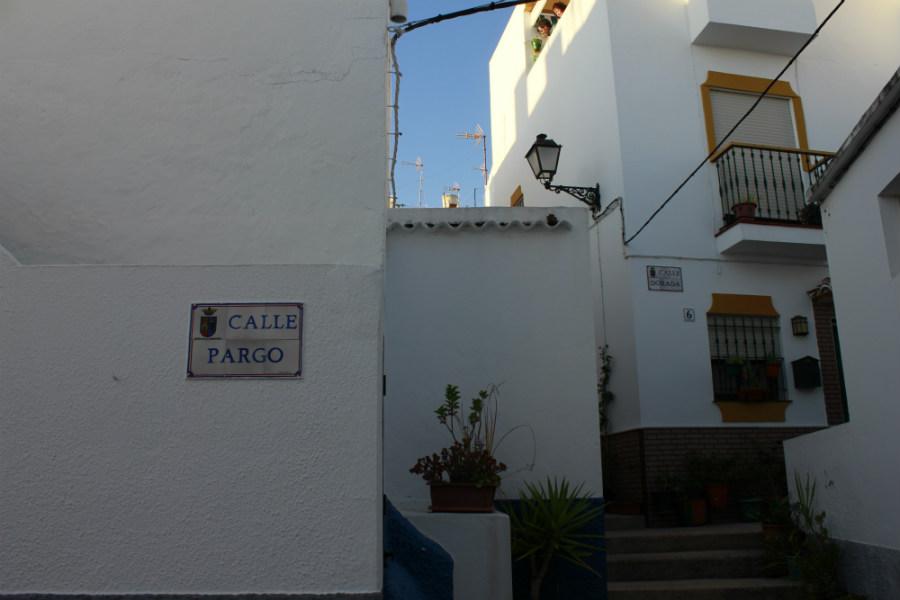 Todas las calles de este barrio tienen nombres relacionados con la pesca.