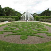 Jardines e invernadero del castillo de Malahide, cerca de Dublín
