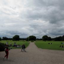 Jardines del castillo de Malahide, cerca de Dublín