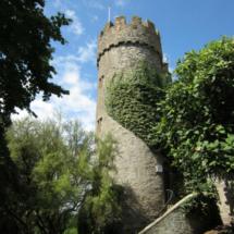 Castillo de Malahide, en Irlanda, cerca de Dublín