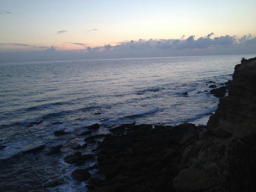 Vistas del Océano Atlántico desde el Faro de Roche