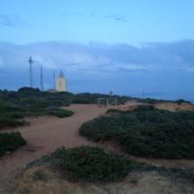 Vista del Faro de Roche, en Conil de la Frontera