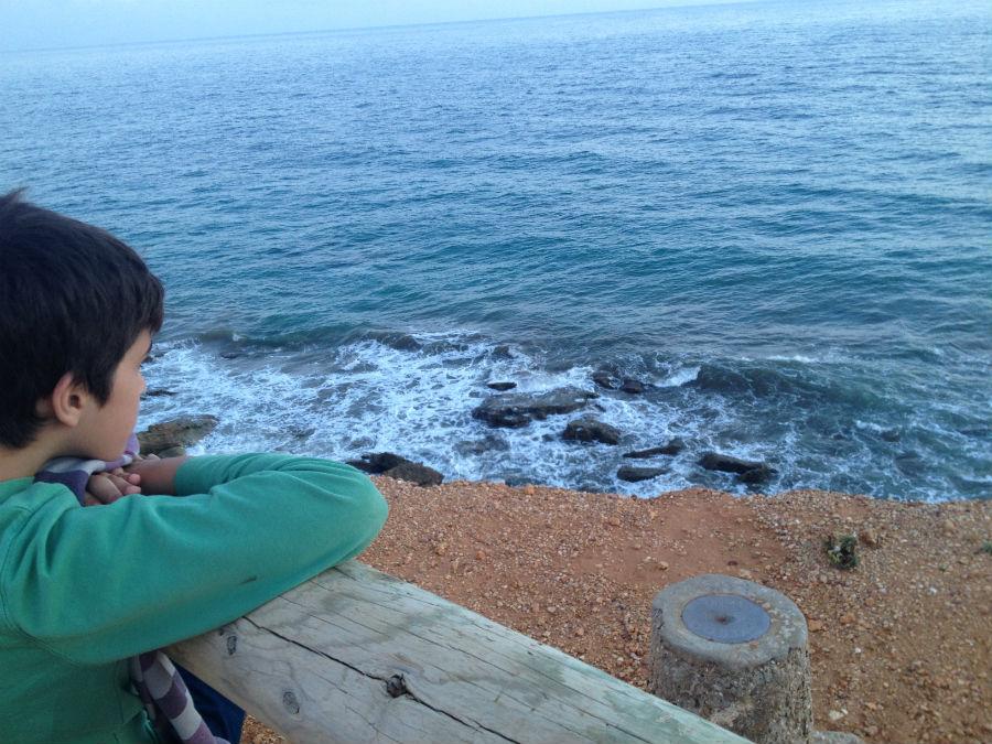 Las vistas desde el Faro de Roche son impresionantes, también para los niños