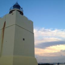 El Faro de Roche, en Conil de la Frontera, es un faro moderno