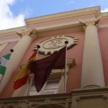 Fachada del Museo de las Cortes de Cádiz