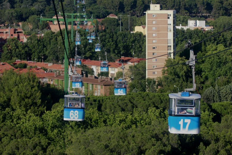 Un viaje en el telef rico de madrid - Hoteles casa de campo madrid ...