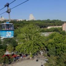 Vistas de Madrid desde el Teleférico