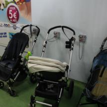 El Teleférico de Madrid tiene un parking para carritos de bebé